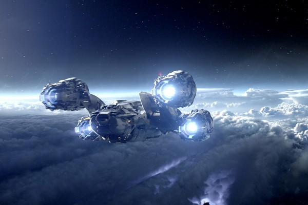 BANDAS SONORAS (Score / Instrumental) Prometheus-spaceship