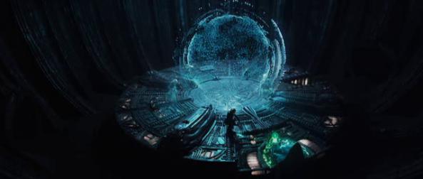 Complex starmap  - Copyright 20th Century Fox
