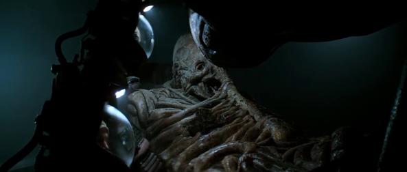 Space Jockey from Alien 1979 - Copyright 20th Century Fox